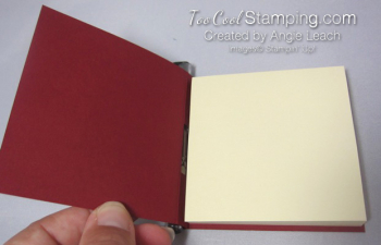 Hang Stocking Sticky Notes - cherry 3
