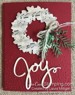 Joyful Wreath - Laura Milligan
