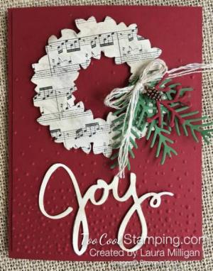 Joyful Wreath - Laura Milligan