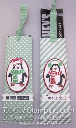 Snow place candy bar pull treat - two cool