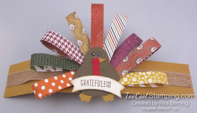 Ritas turkey napkin ring 3