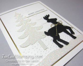 Dazzling reindeer silhouette - tall 2