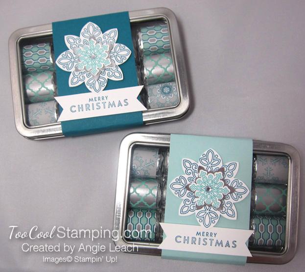 Nugget tins - snowflake two cool