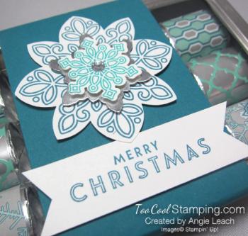 Nugget tins - snowflake indigo 2