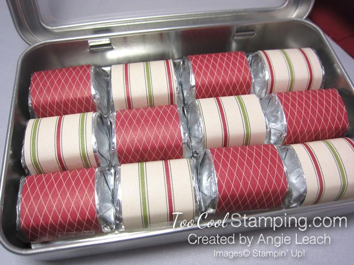 Nugget tins - ornament - crumb wraps