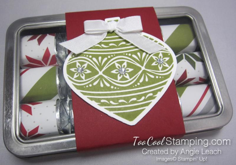 Nugget tins - ornament - white