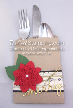 Darla - poinsettia place setting 1