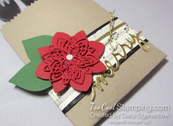 Darla - poinsettia place setting 2