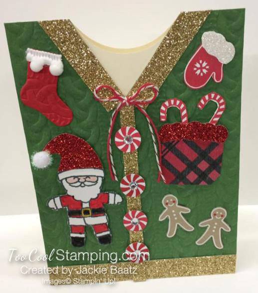 #3 - Jackie's Ugly Sweater Card