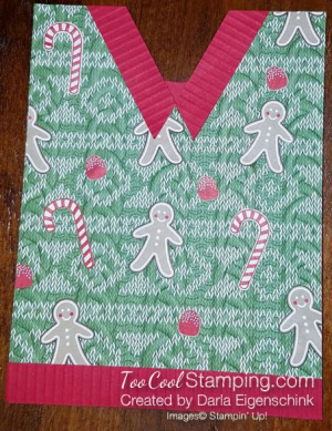 #6 - Darla's Ugly Sweater Card