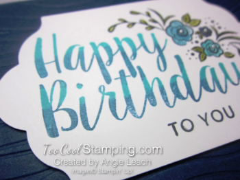 Big on Birthday Two-Tone - Navy 3