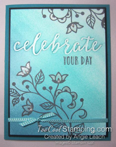 Happy celebrations gradation - indigo