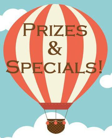 Single hot air balloon - prizes specials