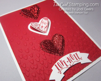 Love note sending love - jodi 2