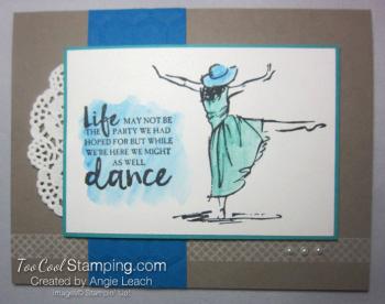 Beautiful You Watercolor Dance - pacific