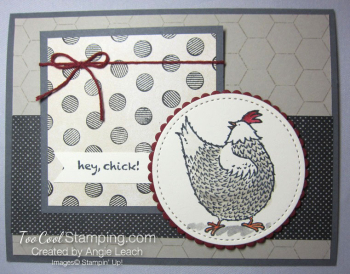 Hey chick chicken wire - rooster