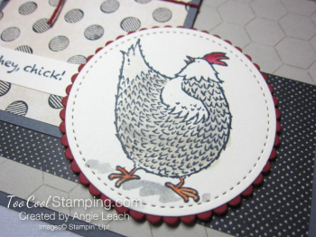 Hey chick chicken wire - rooster 3
