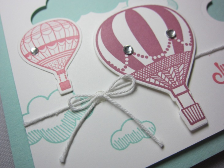 Cloudy day balloons - in colors 2