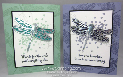Dragonfly Dreams Silver Die-Cut