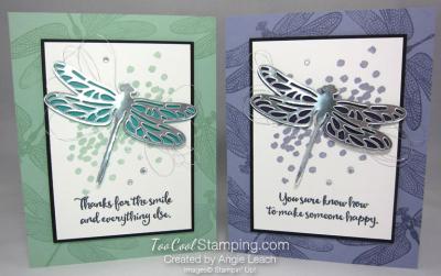 Dragonfly Dreams Silver Die-Cut