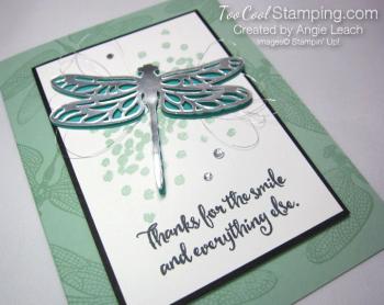Dragonfly Dreams Silver Die-Cut 3