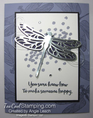 Dragonfly Dreams Silver Die-Cut - wisteria 2