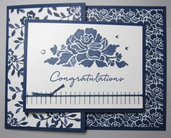 Floral boutique joy fold - congrats