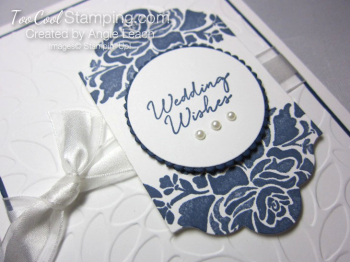 Floral boutique white petals - wedding 2