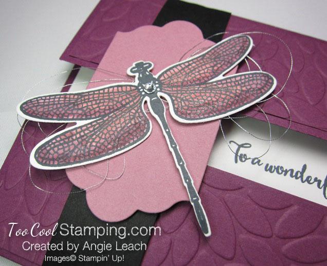 Dragonfly Dreams Gate Fold Window - razzleberry 3