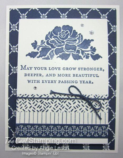 Floral boutique love stronger card 1.5