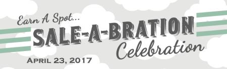 Saleabration celebration banner