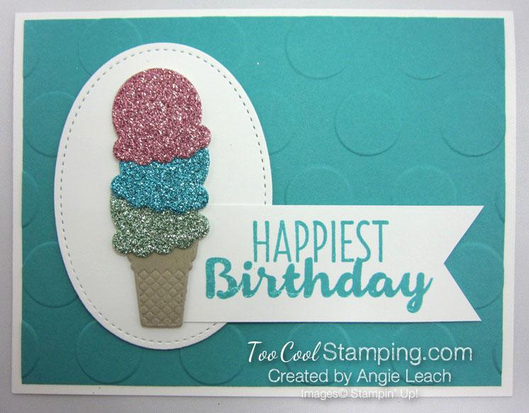 Cool Treats Glimmer Paper Ice Cream Cone