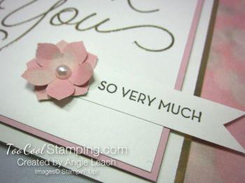 So Very Much Petite Petals - gold 2