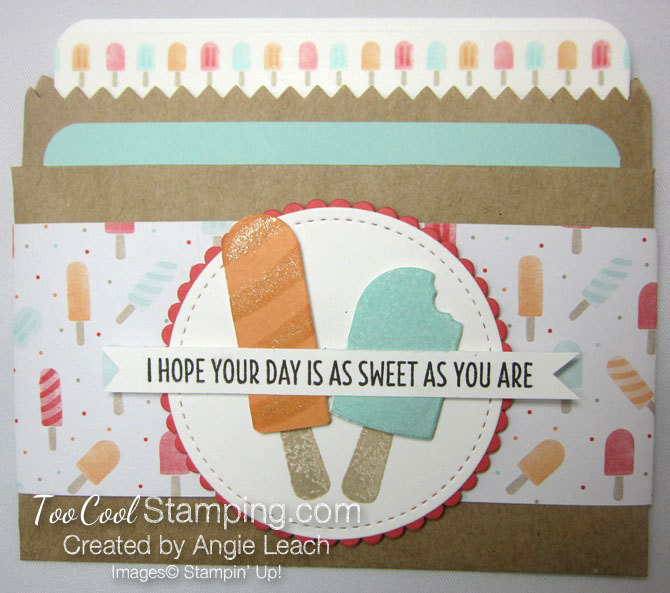 Cool Treats sweet day gift card holder