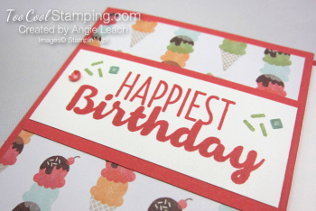 Cool Treats Cone Gift Card Holder - watermelon 6