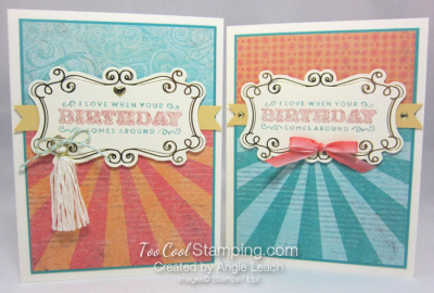 Cupcakes & carousels birthday - two cool