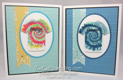 Tie-Dyed Custom Tee Card