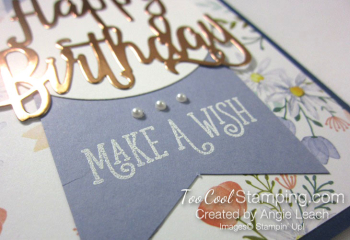 Happy birthday make a wish - wisteria 3