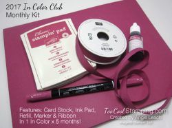 In color club month kit
