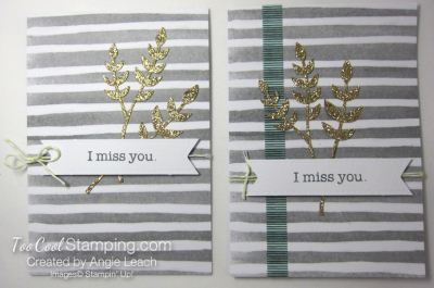 Soft sayings kit - card 6