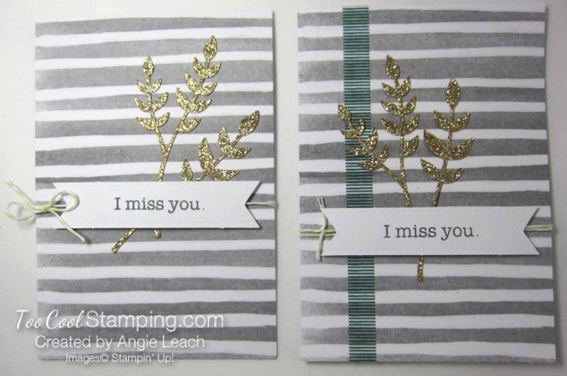 Soft sayings kit - card 6