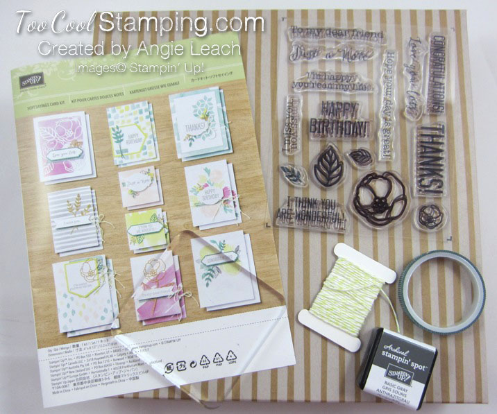 Soft sayings kit - contents 2