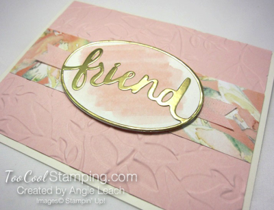 Powder pink - friend layered leaves 2