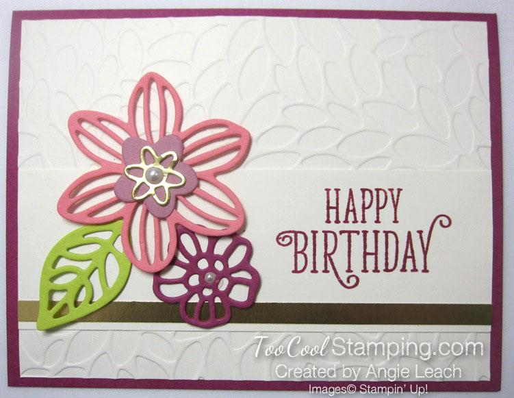 In color club berry burst - petal birthday