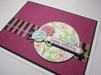 Happy birthday gorgeous planks floral - happy birthday 2