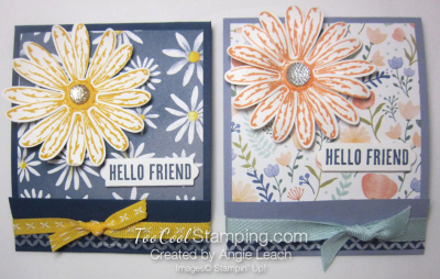 Delightful daisy post it note holder - two cool