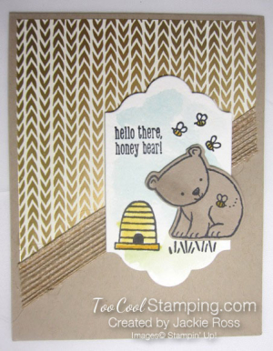 Honey bear - jackie ross
