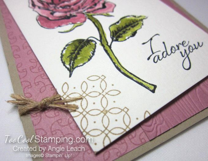 Graceful Garden watercolor - sweet sugarplum 4