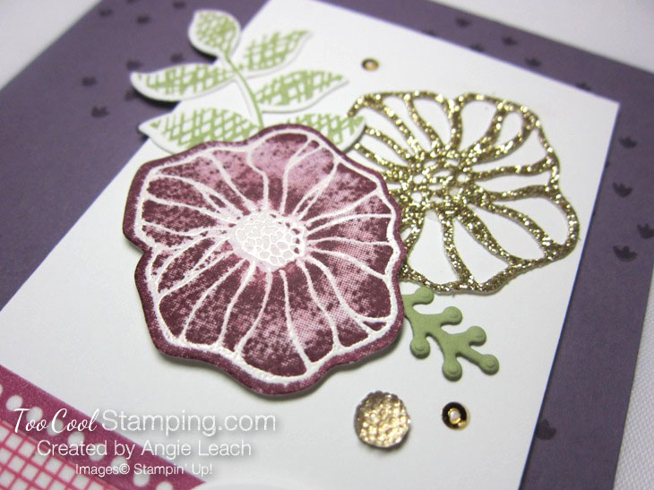 Oh So Eclectic emboss resist collage - plum 4