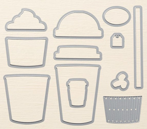 Coffee cups framelits 143745G